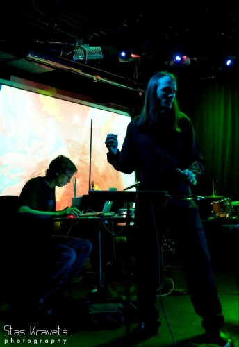 with Jim Tuite at Le Poisson Rouge